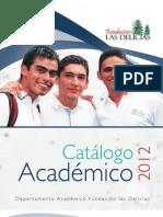 catalogo de alumno de Fundación las delicias_2012