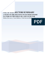 Oil & Gas Sector Summary (1)