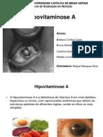 Slides de Hipovitaminose A