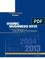 Doing Business 2013 - Zambia Report