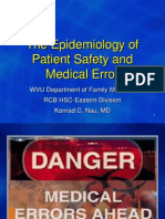Epidem Pt Safety Med Error