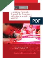 DESCENTRALIZACIÓN-ARTICULACIÓN NACIONAL Y REGIONAL MIMDES