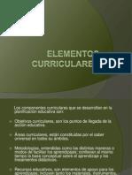 Elementos Curriculares