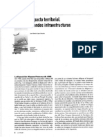 Impacto Territorial de Grandes Infraestructuras