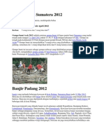 Gempa bumi Sumatera 2012