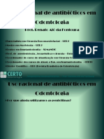 Uso racional de antibióticos - 22/10/10 - cro/rj