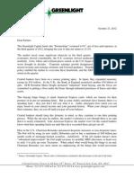 Greenlight Capital Q3 2012 Letter