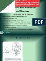 Controle da dor e da inflamação - 19/10/12 - VEIGA DE ALMEIDA