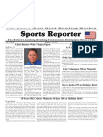 October 17 - 23, 2012 Sports Reporter