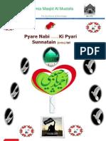 Pyare Nabi s.a.w.w Ki Pyari Sunnatain Urdu Txt