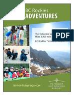 "BC Rockies Adventures - ""School of Nature"""