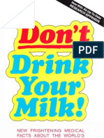 Don't Drink Your Milk