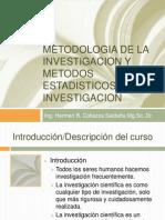 Metodologia de La Investigacion y Metodos Estadisticos Para