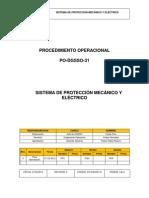 PO-DGSSO-31 Sistema de Proteccion Mecanico y Electrico