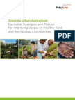 Growing Urban Agriculture