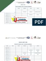 Horarios Lic en Administracion Secc 1 2 3 4 Nvo Ingreso y Prose 2012