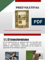 2.1 teorias preevolutivas