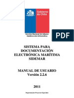 Manual de Usuario Sidemarv2 2 6