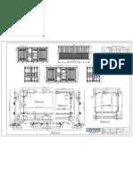 CONTAINER Ind DG 6.0m 4 Door GA