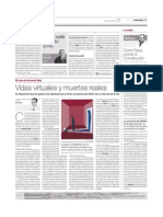 Vidas virtuales y muertes reales - Jaume Funes 22 d'octubre de 2012. El Periódico