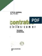 Alterini, Atilio Anibal - Contratos Civiles, Comerciales, De Consumo