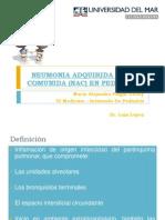 Neumonia Adquirida en La Comunida (Nac)