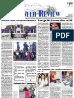 Pioneer Review, October 25, 2012