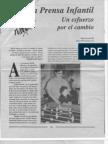 """La prensa infantil"" en revista Fem"
