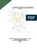 MANTENIMIENTO  CORRECTIVO AL ESMERIL DEL TALLER DE MAQUINAS Y HERRAMIENTAS  CON Nº DE INV