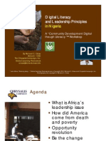 Nigeria Digital Literacy for African Leadership Webinar by Richard Close CEO Chrysalis Campaign
