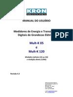Manual Do Usuario - Medidor de Energia e Transdutor Digital de Grandezas Mult-K - (Rev 4.3)