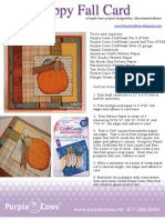 Happy Fall Card by Elisa Kammerdiener