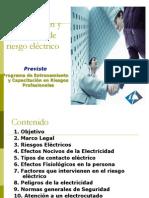 Identificacion y Prevencion Riesgo Electrico
