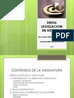 LEGISLACION Segundo Parcial 2012-2
