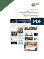 Community Devlopment Digital Literacy Brochure by Chrysalis Campaign Africa