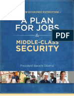 Obama's Blueprint for America's Future Second Term Plan