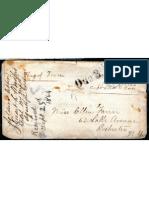 Envelope for Civil War Letter From Southern Prison Camp