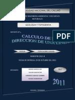 Calculo de La Direccion de Una Linea