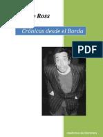 Ramiro Ross Cronicas Desde El Borda