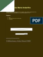 Utilitarismo John Stuart Mill