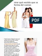 Cómo encontrar qué vestido que se ajusta a mi forma del cuerpo