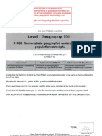 1.2 Population 2011 Excellence Exemplar