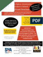 Safe Routes 2012 Grant Seminar[1]