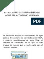 Estructuras de Tratamiento de Agua Para Consumo Humano