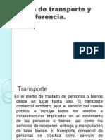 Transporte y Transferencia