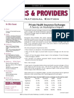 Payers & Providers National Edition – Issue of October 2012
