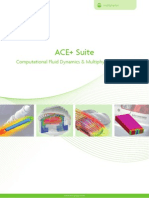 Ace Plus Suite Computational Fluid Dynamics and Multiphysics Solutions