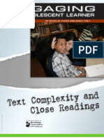 Text_Complexity & Close Reading