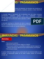 Barandas, Pasamanos 4