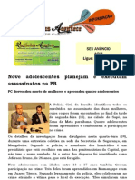 Nove Adolescentes Planejam e Executam Assassinatos Na PB